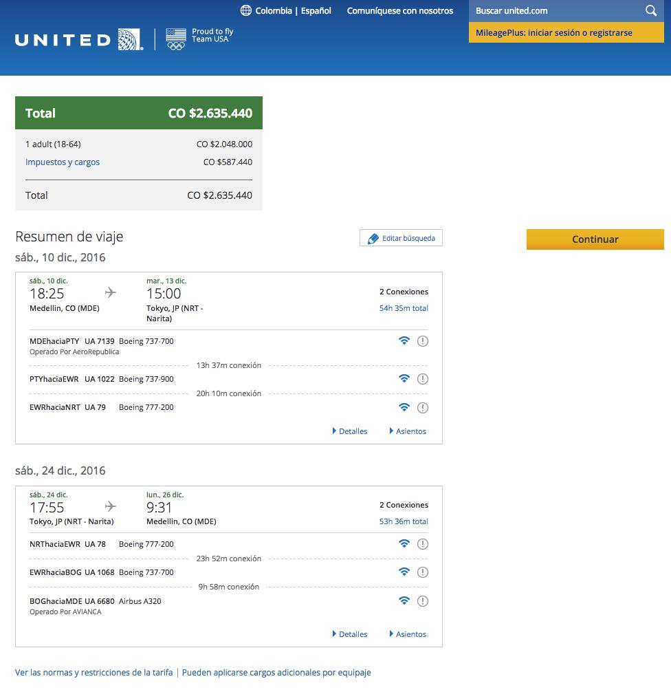 revisar-itinerario-de-viaje-united-airlines